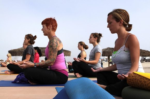 Yoga and network marketing